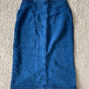 Aritzia Skirts - Aritzia denim skirt